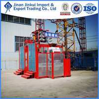 2015 building hoist for lifting people made in china