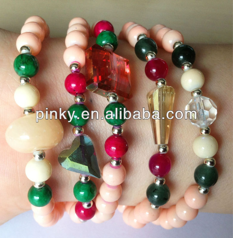 natural stone bead bracelet 2015 new bijoux wholesale camellia bracelet