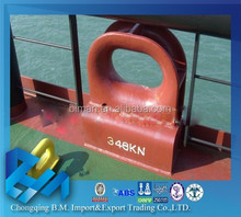 Marine supplies chock/mooring equipment chock for ship