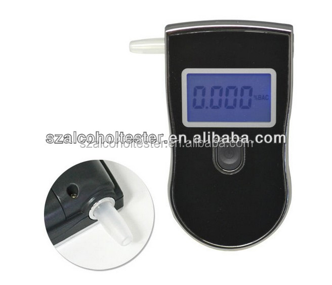 Portable Breathalyzer Alcohol Tester AT818 Car Driver Personal LCD Digital Alcohol Level Content Tester Sensor Breathalyzer