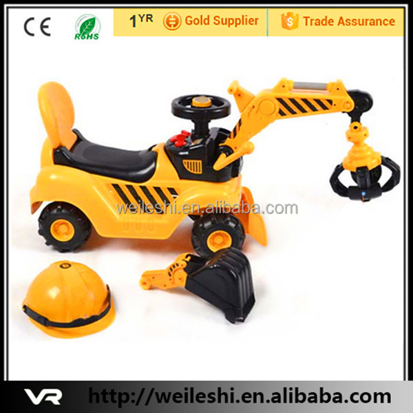 Children electric toy car for kids to drive ride on car toy excavator