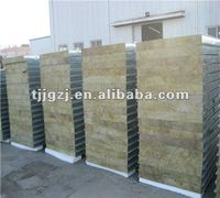 steel/rock wool composite sandwich panel