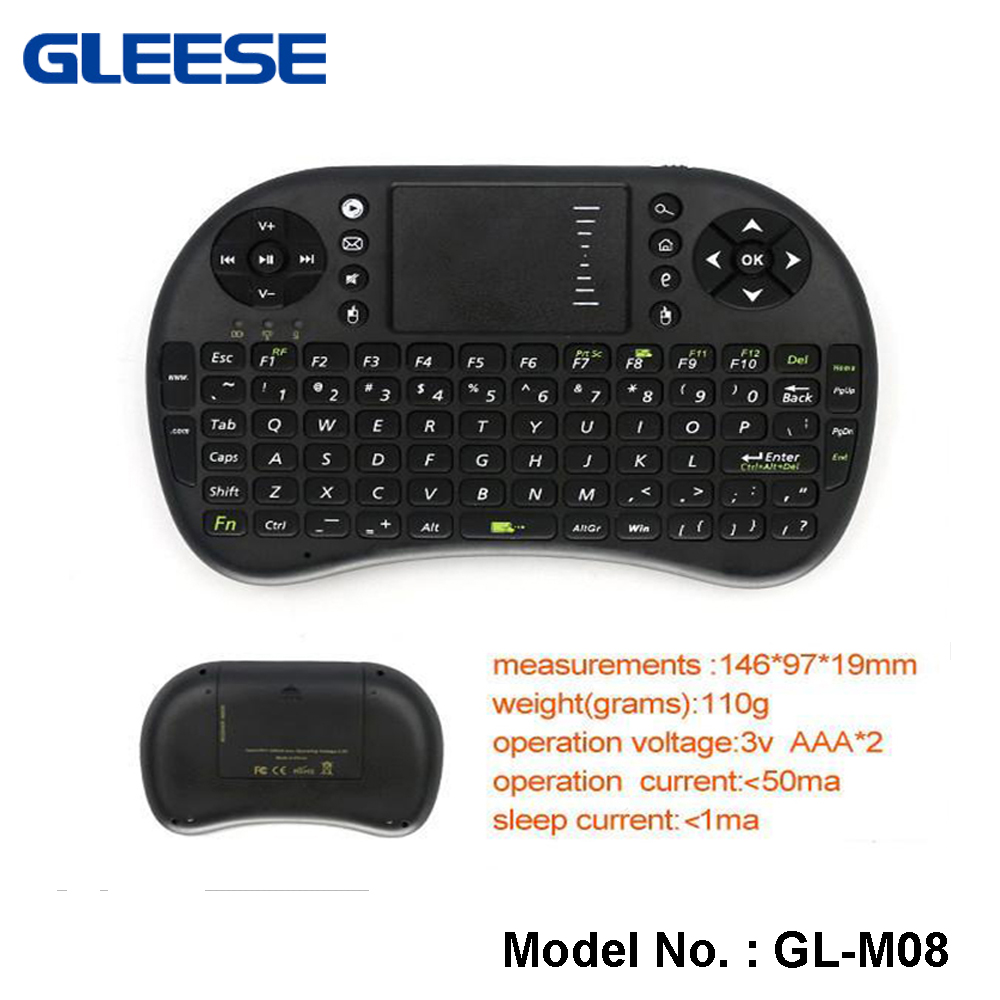 Wireless Mini Handheld Keyboard with Touchpad Combo for LG smart TV,Android and Google Smart TV Box