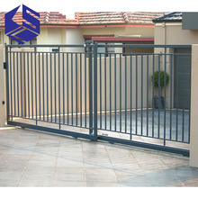 Hot sale stainless steel main sliding gate designs for homes
