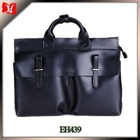 The cheap men's tote leather briefcase the unique antique leather wholesale from China