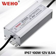Factory outlet 100w LPV-100-12 waterproof led driver ip66