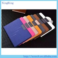 2015 high quality stand pu leather flip cover for ipad mini 2 3 case