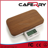 Digital Multifunction Kitchen and Food Salter Scale with Bamboo or Glass Platform