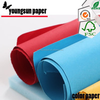 Coated Coating and Paper Bag and Gift wrapping paper Use self adhesive color paper in sheets