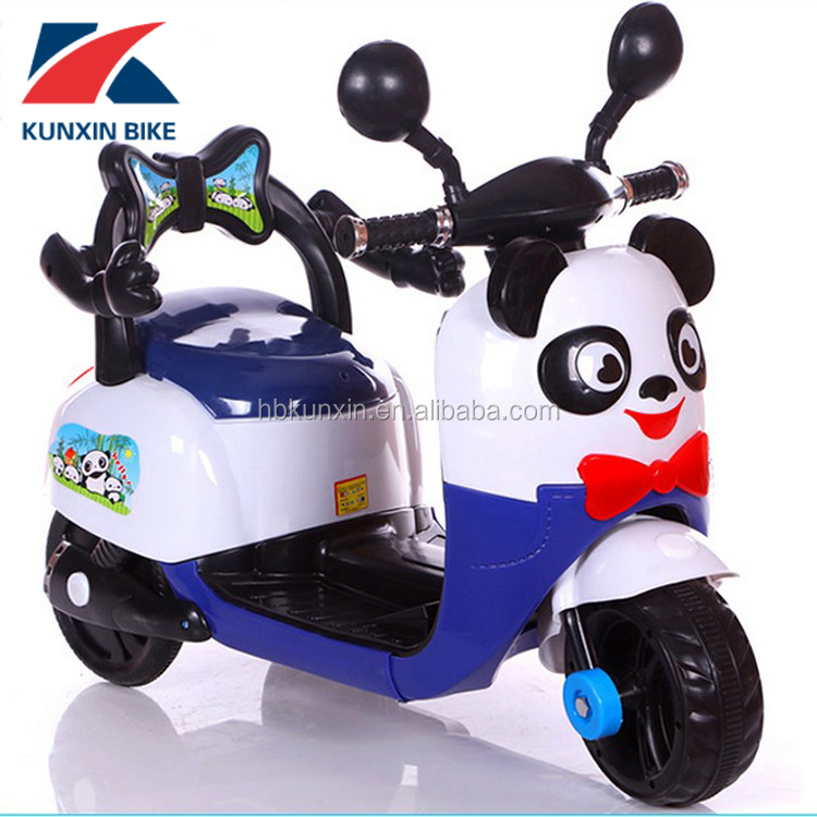 Children Ride On Motorcycle/Three Wheels Electric Kids Motor Bike/new pp baby tricycle with flashing wheels