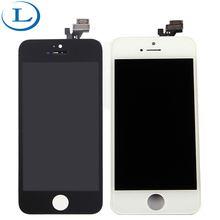 On sale 100% Tested lcd for iphone 5 touch phone spare parts digitizer for iphone 5 with digitizer touch lcd