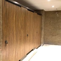 High Pressure Laminate Panel Toilet Partition