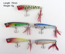 Fishing Tackle A Premium Quality Translucent Popper Fishing Lure