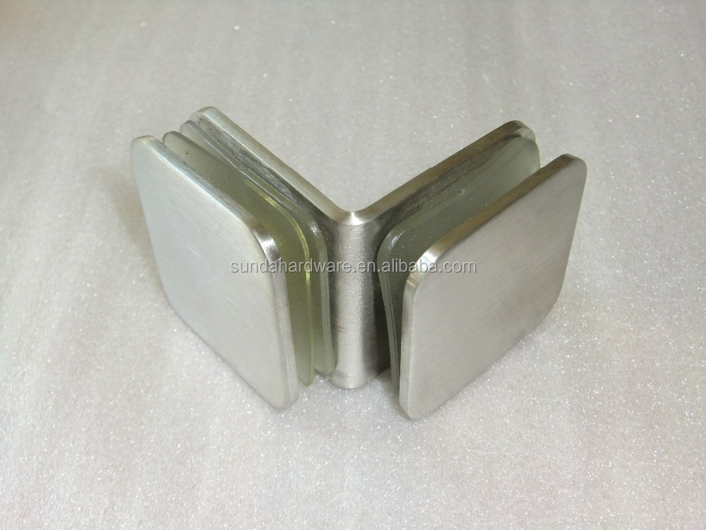 Stainless Steel Glass Shelf Clamp for Showr Room And Shower Screen