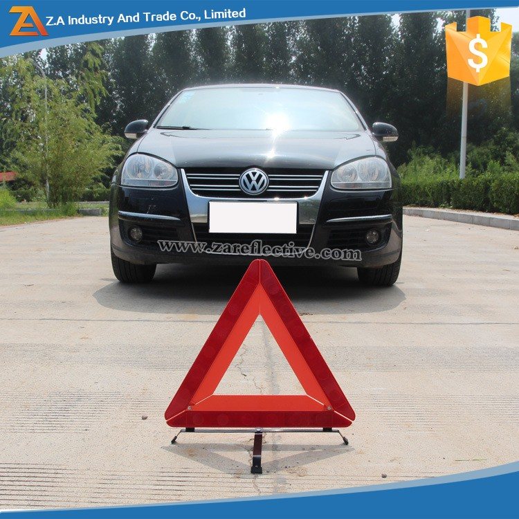 Competive Price Auto Reflector Warning Triangle Road Safe Sign