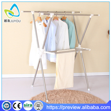 YB-0309 folding stainless steel drying rack clothes