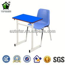 Colorful cartoon school desk and chair school lab furniturer