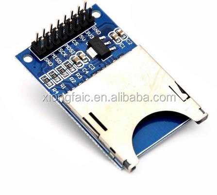 Reading and writing module SD Card Module Slot Socket Reader ARM MCU