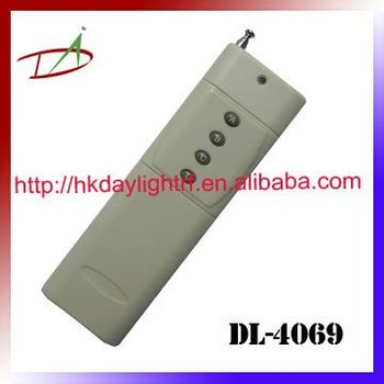 1200m measured distance RF handheld remote control
