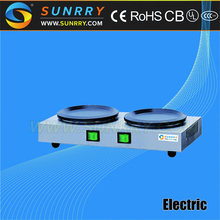 Electric coffee warmer plate with two hot plate coffee pot warmer for drip coffee maker (SUNRRY SY-CM80D)