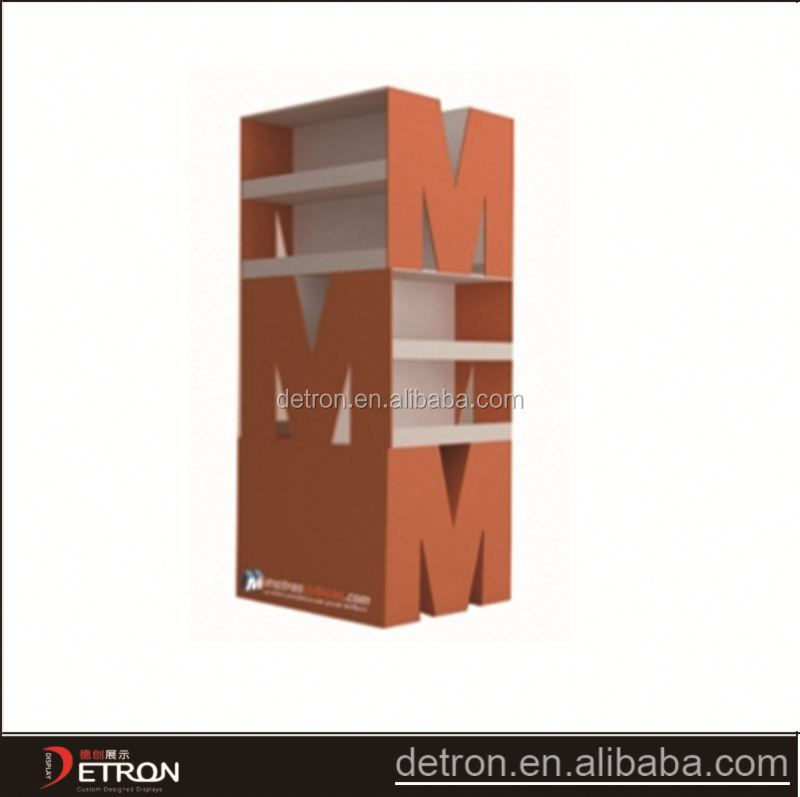 wooden shose orange showpiece rack