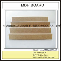 2015 high quality RAW MDF / PLAIN MDF / MDF board FOR SALE