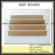 2017 high quality RAW MDF / PLAIN MDF / MDF board FOR SALE