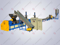 180D PP PE Films plastic granules recycling machine