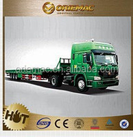 sinotruk A7 manual 6*4 & Widely Used CTAC 40FT Flatbed Semi Truck Trailer for sale , truck trailer spare parts