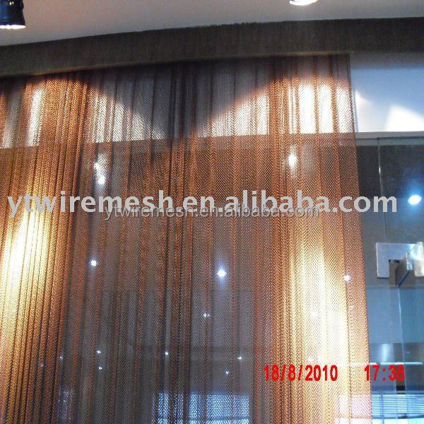 Decorative beautiful metal mesh curtain