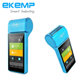 Android Smart POS Terminal with Thermal Printer and Barcode Reader supports EMV PCI