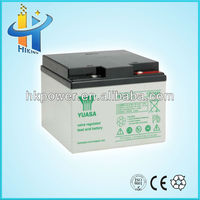 ups battery 12v 26ah battery for solar system battery vent plug