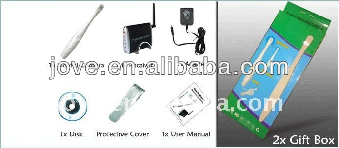 2.4GHz wireless usb snake tooth medical endoscope camera for tv and pc