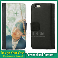 2017 newest product fall protective flip luxury leather phone case wallet case cell phone case for iphone 6