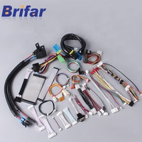 custom 6 pin jst gh 1.25mm connector industrial electrical led light bar wire harness cable assembly manufacturer with UL