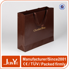 customized handmade promotion textured fancy paper bags packaging