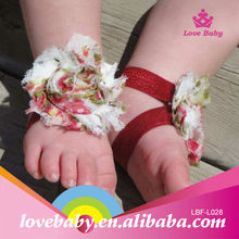 New Hottest selling Infant Shoes Cotton Barefoot Sandals
