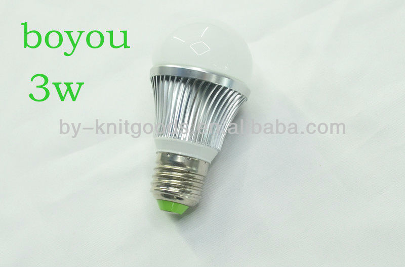 2014 new products e27 filament led bulb 3w high lumen made in china