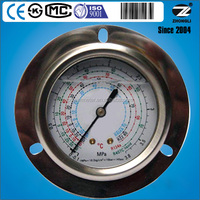 High stability refrigerant manifold pressure gauges with ISO9001 certificate