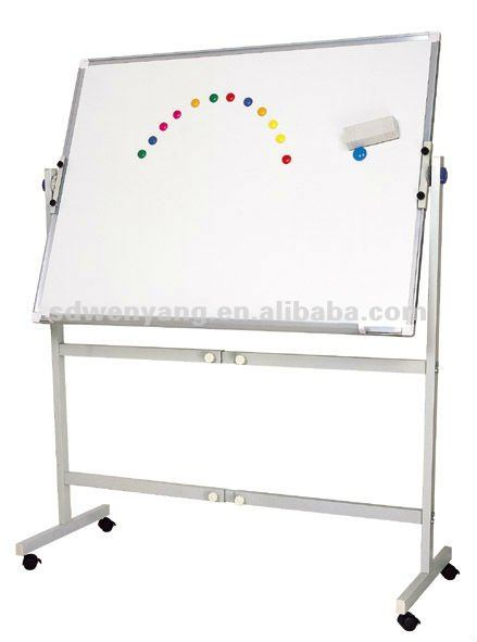 Four users writing interactive whiteboard