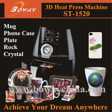 3D Sublimation Vacuum mini personal handphone case combo Heat Press printer
