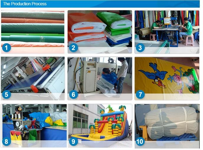 Super high quality custom design inflatable water park