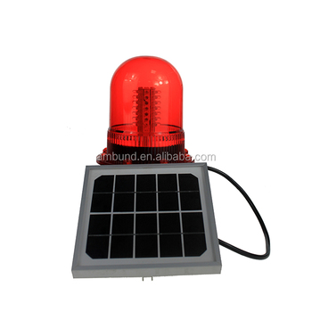Red/Amber/White Solar marine light
