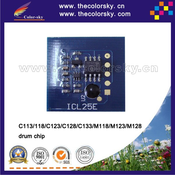 (TY-X123D) drum counter reset chip for xerox WorkCentre wc C113 <strong>C118</strong> C123 C128 C133 M118 M123 M128 bk 60k pages