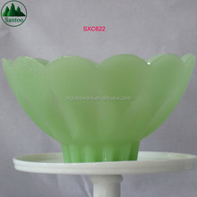 Traditional Customise Design Jade Color Glass Bowl
