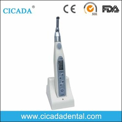 CICADA Cordless endo motor with 16:1 Reduction LCD Contra Angle wireless endo motor
