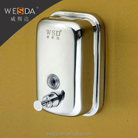 WESDA Wholesale Bathroom Auto wall mounted liquid Soap Dispenser 800ml Made in china