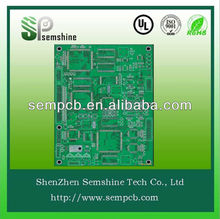 LCD Display Aluminum Double-sided PCB&CRT TV Circuit factory