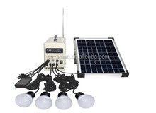 New Arrival 30W Portable DC solar Lighting kit with Radio for africa market