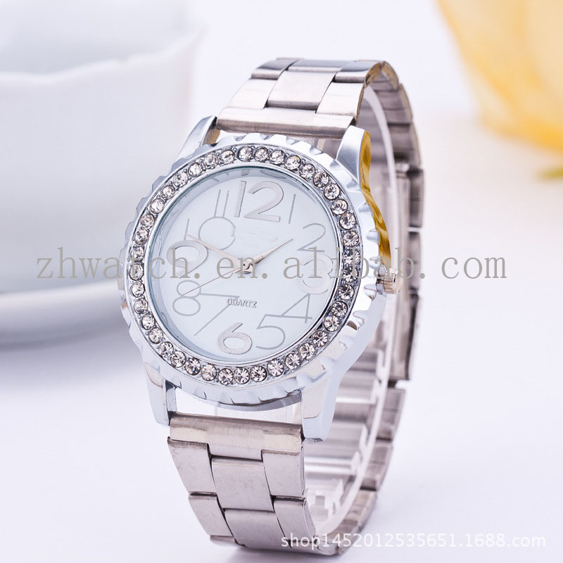 2016 pro 3ATM Water Resistant Watch Ladies Bling Crystal stainless steel gold famous brand ladies watches